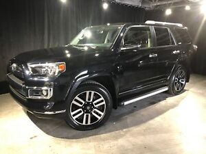 2018 Toyota 4Runner LIMITED 7 PASSAGER SEULEMENT 27 811KM*