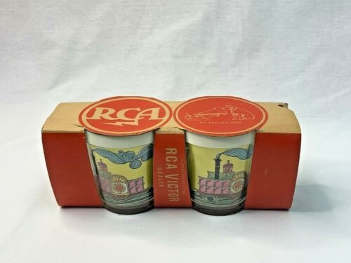RCA Nipper Dog Insulated Mugs Vintage