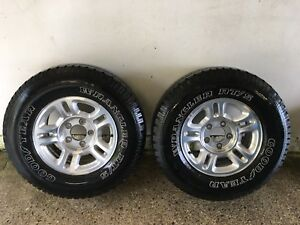 Two 255/70R16 Tires / Rims in great shape !!