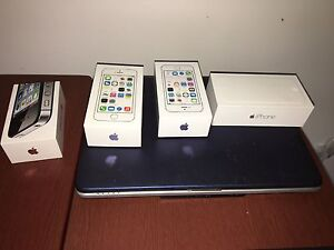 Brand new IPhone boxes