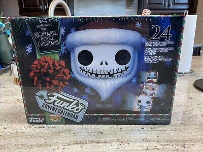 Rare Nightmare Before Christmas Funko Advent Calendar 24 Pocket Pop Vinyl Figure
