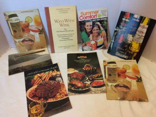 Lot of Vintage Cocktail Recipe Bar Guide Mixing Drink Cook Books Mixology Tiki