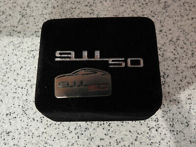 Genuine Porsche 911 50 Year Lapel Pin/Tie Tack (Magnetic)
