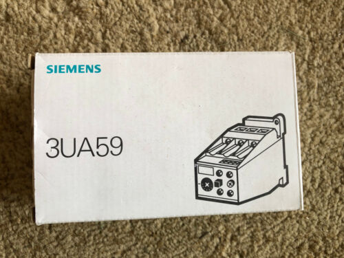 SIEMENS THERMAL OVERLOAD RELAY 3UA59 00-1K *NEW IN BOX* Free Shiping