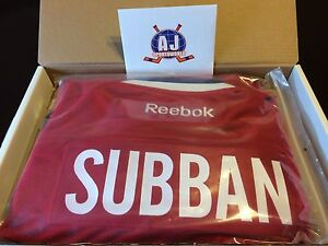 PK Subban Montreal Canadiens Autographed Jersey.
