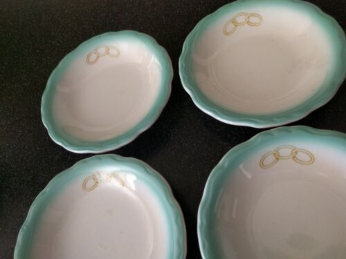 Vintage 1944 RESTAURANT WARE BOWLS INDEPENDENT ORDER OF ODD FELLOWS CUP WALLACE