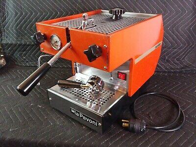 La Pavoni Italy Eurobar Professional Lever Espresso Coffee Machine Vintage 80s