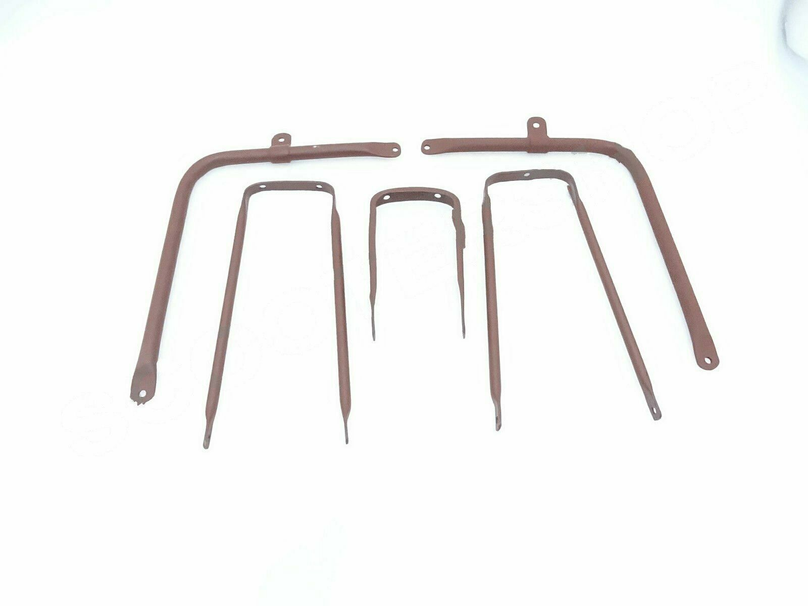 NEW BSA C10 C11 FRONT AND REAR MUDGUARDS RAW STEEL @VINTAGE