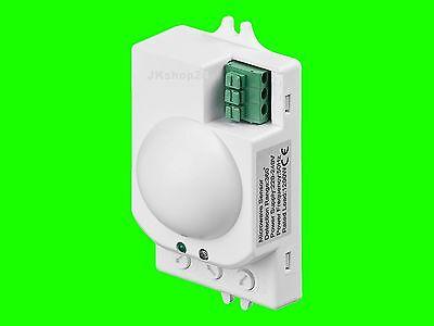 Radar-Detektion BEWEGUNGSMELDER Lampen+LED HF-Mini-Melder Aufputz 1200W/300 Watt