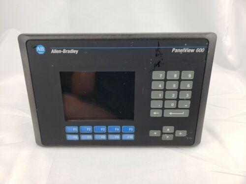 USED Allen bradley Panelview 2711-K6C2 ser B FRN 4.21  Keypad  DH485 Comm