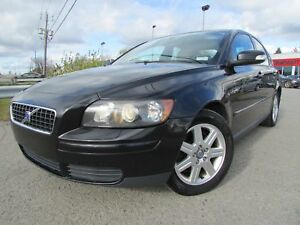 2007 Volvo S40 2.4i A A/C CRUISE CUIR TOIT OUVRANT!!