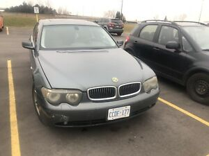 2003 BMW 740I - $3300 OBO AS IS