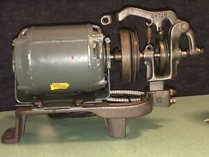 Century Electric Company Sewing Machine Clutch Motor $50 1/3 HP