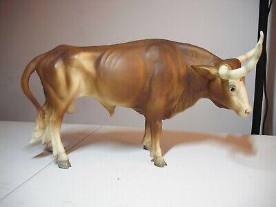 Breyer Vintage Longhorn Bull With Eye Whites #75