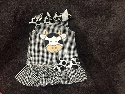 Mud Pie - Cow Dress Wellard Kwinana Area Preview