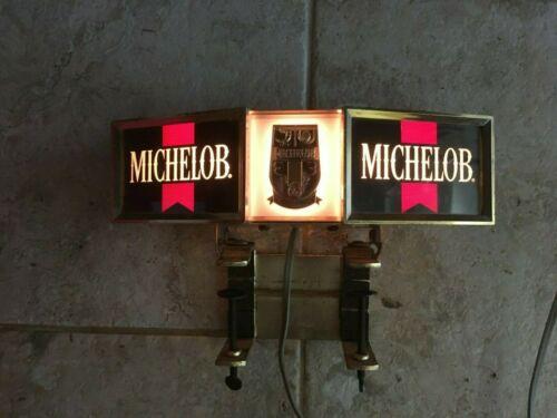 Vintage Michelob Beer Cash Register Lighted Bar Sign Anheuser Busch