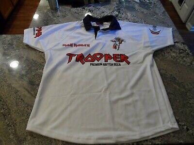 IRON MAIDEN Soccer Jersey Football shirt Official Merch Trooper Beer