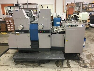 Ryobi 582h Offset Printing Press With Infrared Dryer
