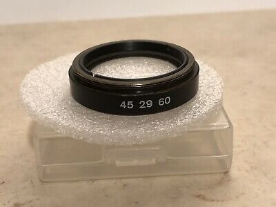 Zeiss Infinity Tube Lens 452960 Microscope Axioskop Axiophot Axioplan