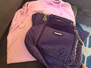 Juicy Couture purple leather handbag Pearce Woden Valley Preview