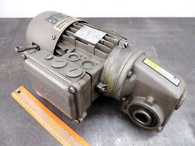 Nord Electric Motor 230460 3-ph Speed Reducer Gear Drive Fits Conveyor Unicase
