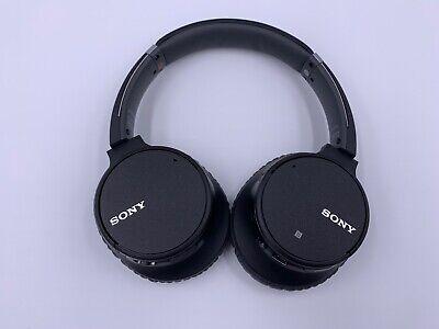 SONY WH-CH700N/B Headphones, Black - MSRP $199.99
