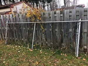 Top mount fence