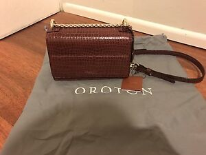 New Oroton Forte Texture Mini Clutch Bag Meadowbank Ryde Area Preview