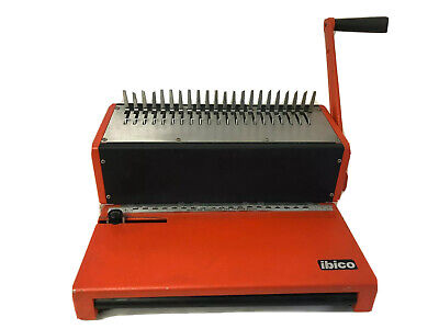 Ibico Kombo Hole Punch Presentation Folder Binding Machine Plastic Combs Pickup