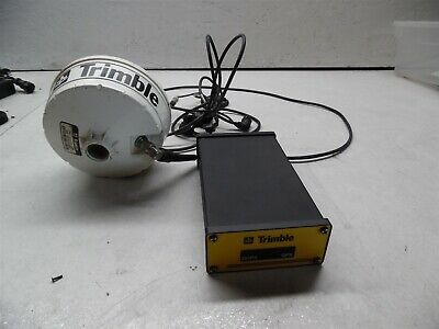 Trimble Gps Dgps 33303-51 And Antenna 33580-50 With Cables