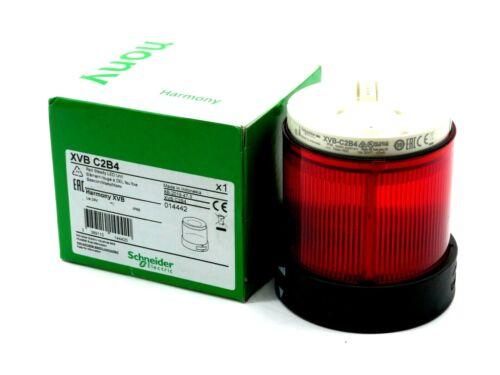 NEW SCHNEIDER ELECTRIC XVB C2B4 RED LED UNIT XVBC2B4
