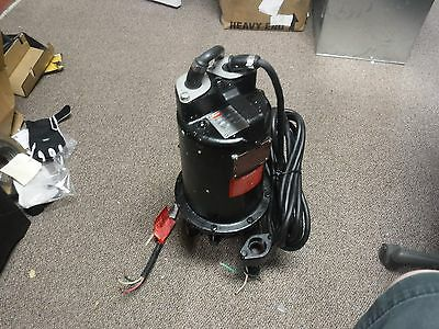 New Submersible Sewage Pump 12hp 230v 1ph 6.2a Tether Switch 2 Npt T