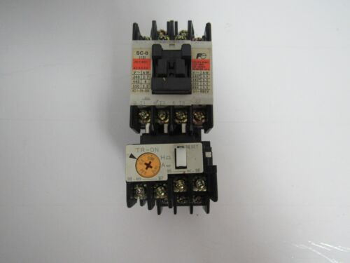 FUJI ELECTRIC FA SC-0 4NC0F0#01 CONTACTOR W/ TR-ON OVERLOAD RELAY
