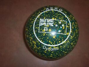 Aero DYNAMIC Lawn Bowls Size 3H WB25 Golf Ball Dimple Gripped VGC Surfers Paradise Gold Coast City Preview