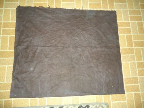 "PACIFIC SILVER POLISH CLOTH ANTI TARNISH XL BROWN FABRIC 56""x32"" UNFINISHED EDGE"