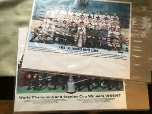 2 Toronto Maple Leafs posters