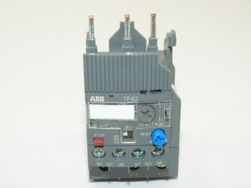 ABB TF42-7.6 Thermal Overload Relay 5.7-7.6a NEW 1yr Warranty