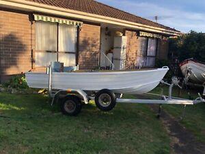 12ft Aliminium boat