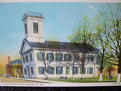 1930's Court House Point Pleasant, WV West Virginia PC