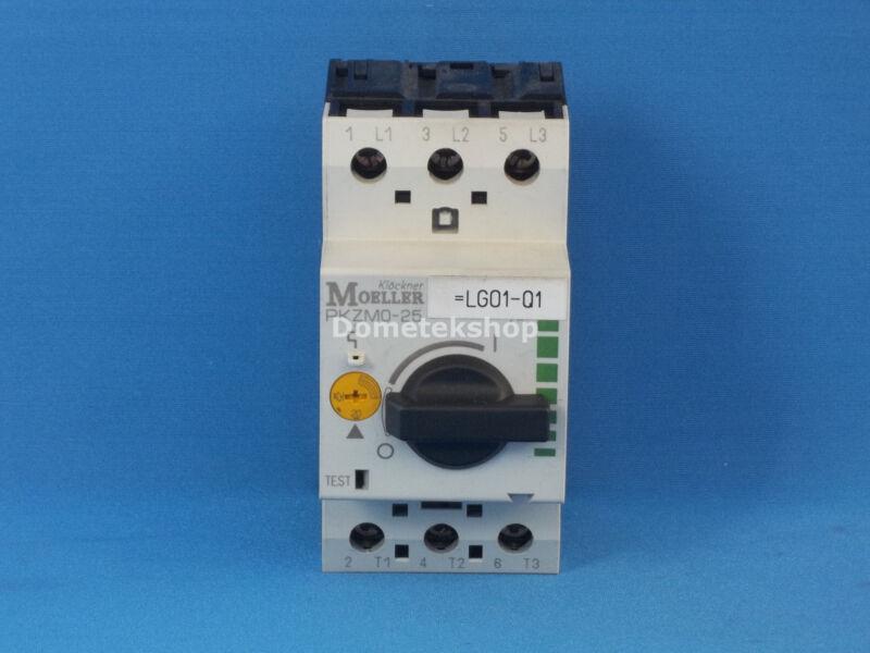 Klockner Moeller PKZM0-25 Manual Motor Protector