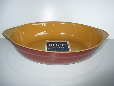 Denby Spice Large Oval Serving Dish New First Quality Excellent Condition Oval Spice