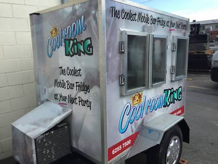 Mobile Coolroom hire - Mini Bar Cool Coyote Catering