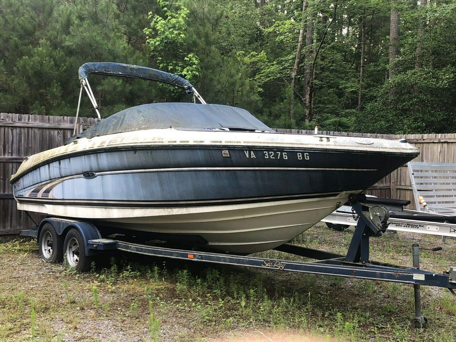 2001 Sea Ray 230BR 23' Bowrider & Trailer - Virginia