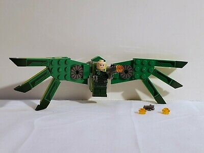 Genuine Lego Marvel Spider-Man Vulture 76114 Minifigure and Full Wings Brand New