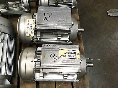 Siemens 20hp Techtop Motor