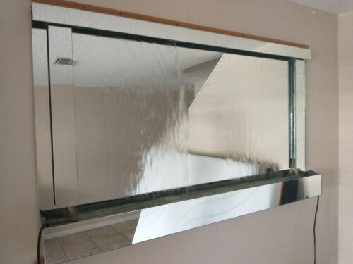 Water Fountain Indoor Waterfall Zen Relaxation Tranquil Mirror
