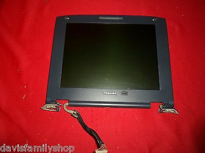 Toshiba Satellite P5261u Laptop Original Factory 15  Lcd Screen And Hinges