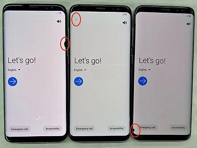 Android Phone - Samsung Galaxy S8 G950U 64GB BLACK DOT LCD Factory Unlocked Smartphone