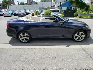 2010 Lexus IS 250C ULTRA PREMIUM *NAVI+BACKUPCAM+CONVERTIBLE*