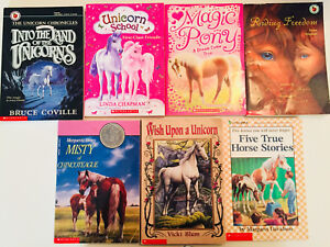 Pony/Unicorn books-Scholastic Canada (all 7 for $17 OR $3 each)